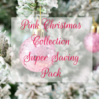 UD Pink Christmas Super Saving Pack © Unicorn Dreamlandia Styled Stock