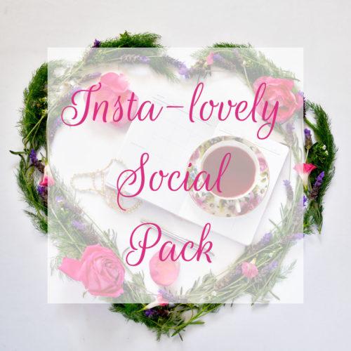 Insta-lovely Social Pack  © Unicorn Dreamlandia Styled Stock