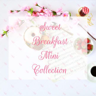 Sweet Breakfast Mini Collection © Unicorn Dreamlandia Styled Stock